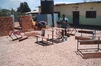 Reparatie Schoolbanken